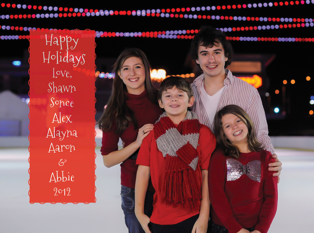 Family Holiday Card 2012
