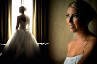 bridal portrait by Chicago wedding photographer