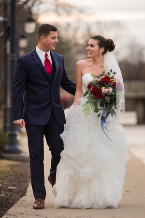 Naperville Riverwalk Wedding Photos