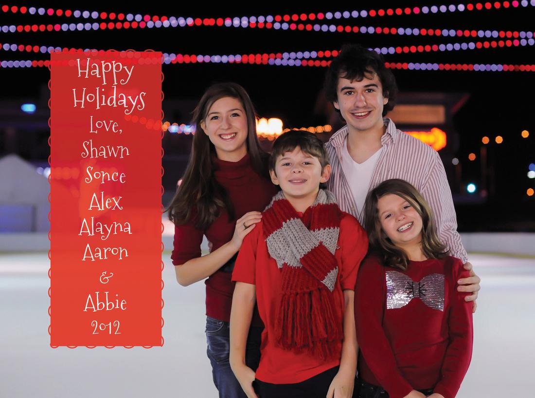 Family Holiday Card 2012